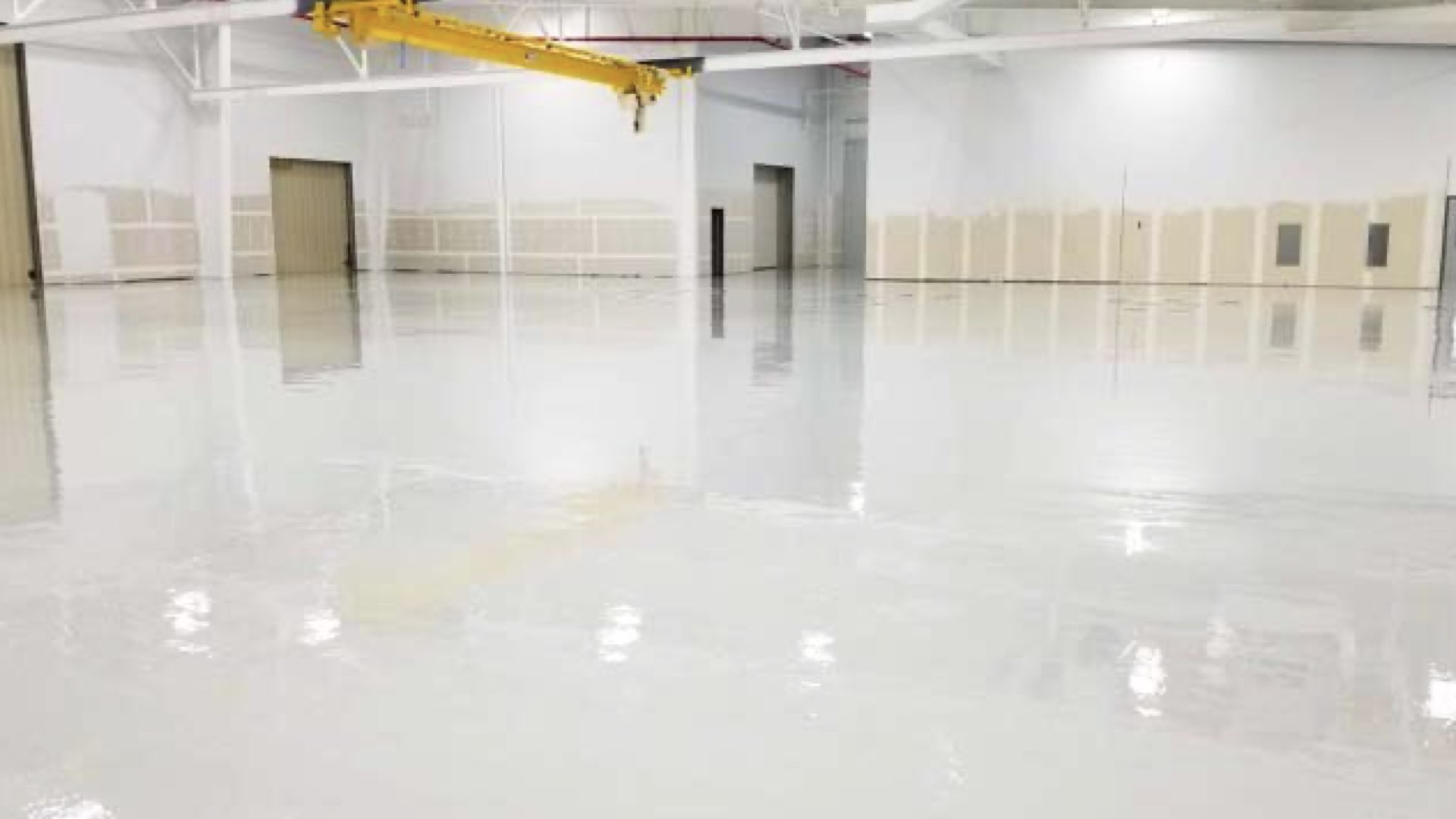 commercial epoxy  floor coatings painting