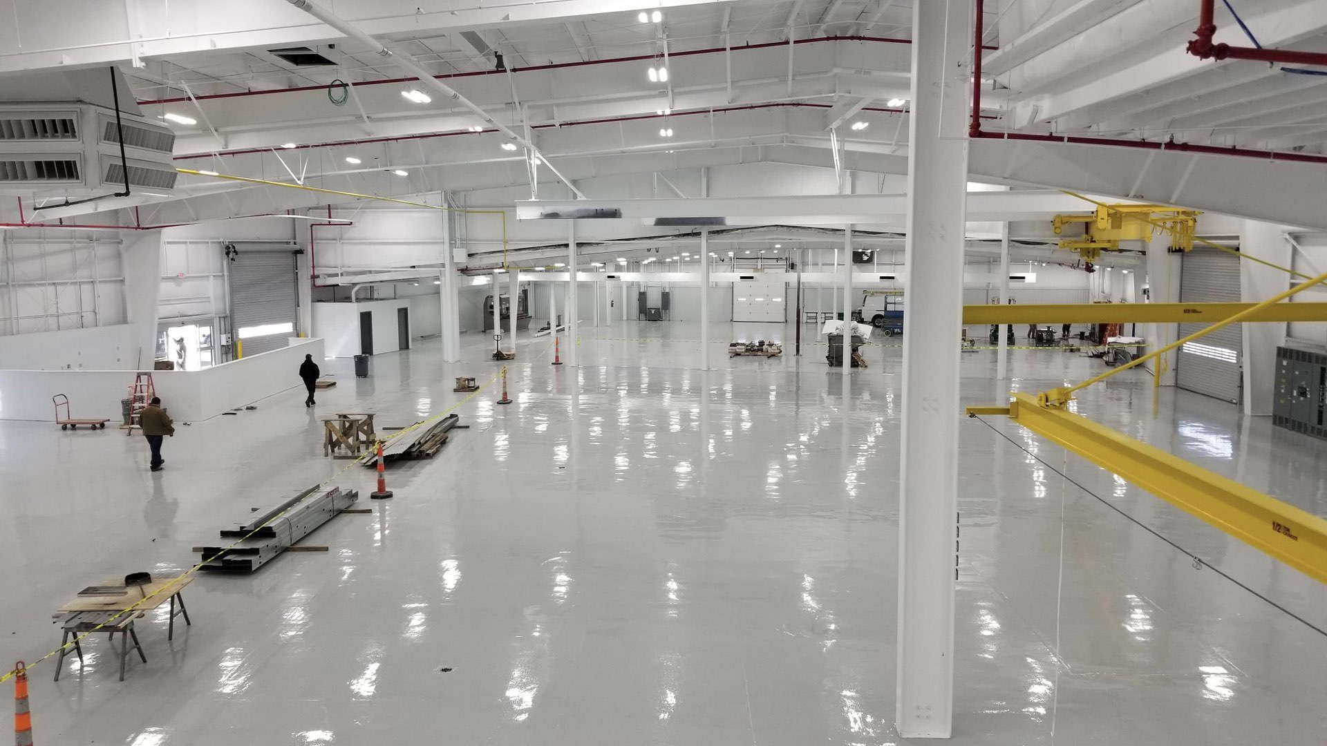 commercial floor coatings painting