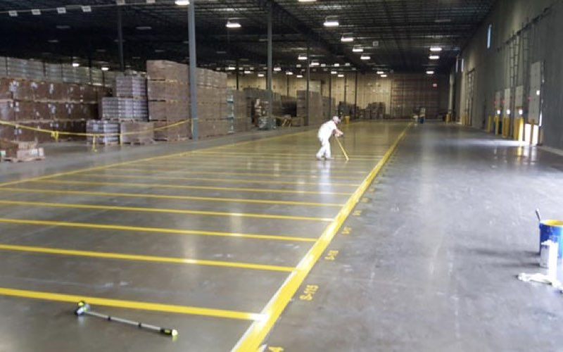 commercial painting industrial floor coatings